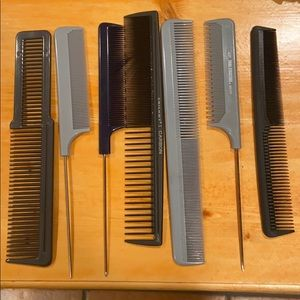 Cutting combs, styling combs
